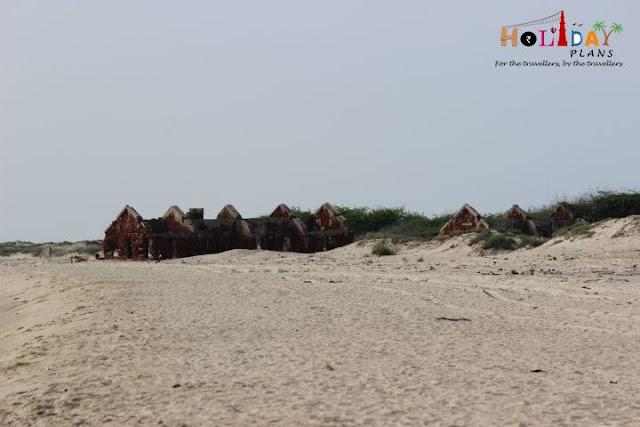 Dhanushkodi in ruins!