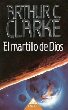 Portada de ARTHUR C. CLARKE - El martillo de Dios