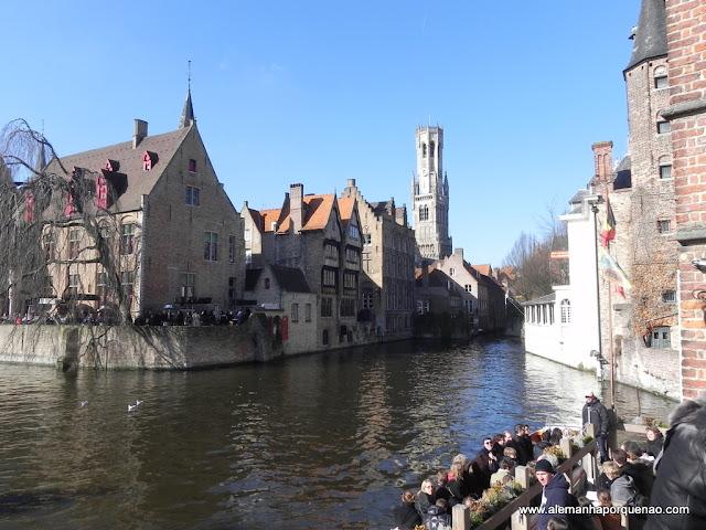 Passeio de Barco em Bruges