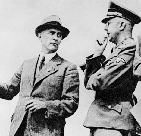Heinrich-Himmler-with-Max-Faust-I. G. Farben