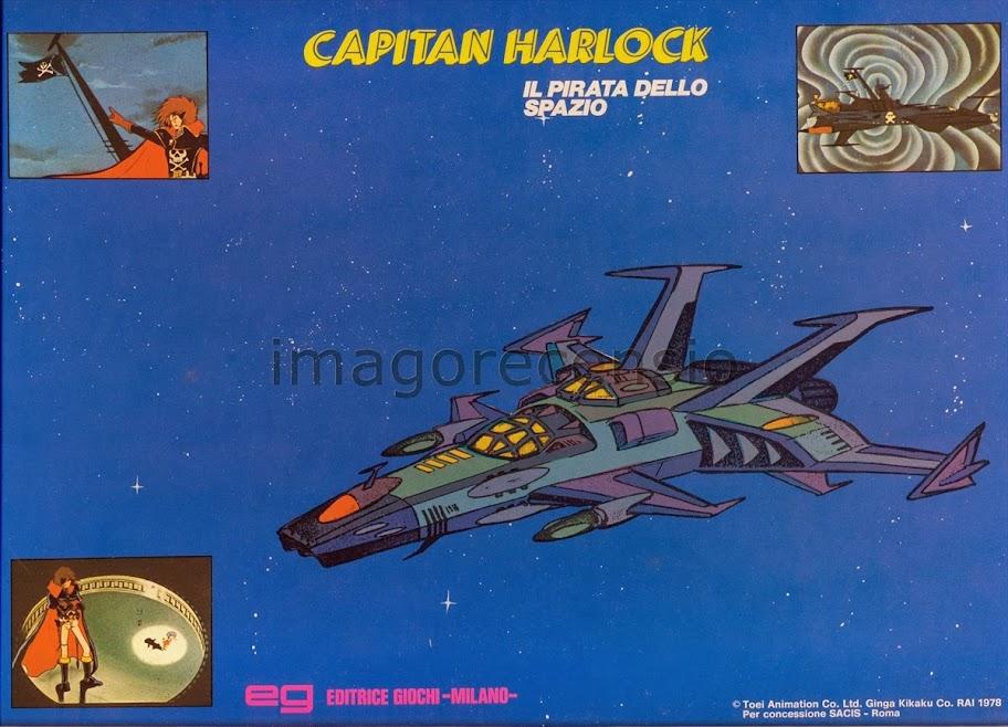 Imago recensio capitan harlock il pirata dello spazio
