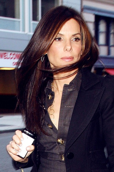 Sandra Bullock Long Hairstyles