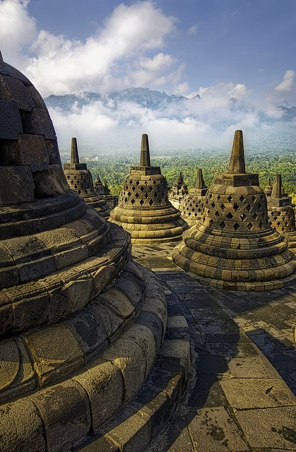 personal identity - Borobudur - Central Java, Indonesia