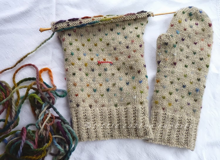 Knitting Pattern For Thrum Mittens : Modification Monday: Fake Thrummed Mitts - Knitted Bliss