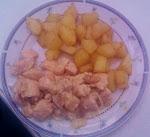 Pollo a la Nata (Crema) con Patatas