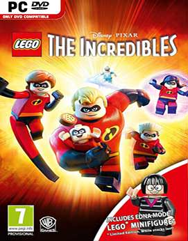 LEGO The Incredibles CODEX Jogos Torrent Download capa