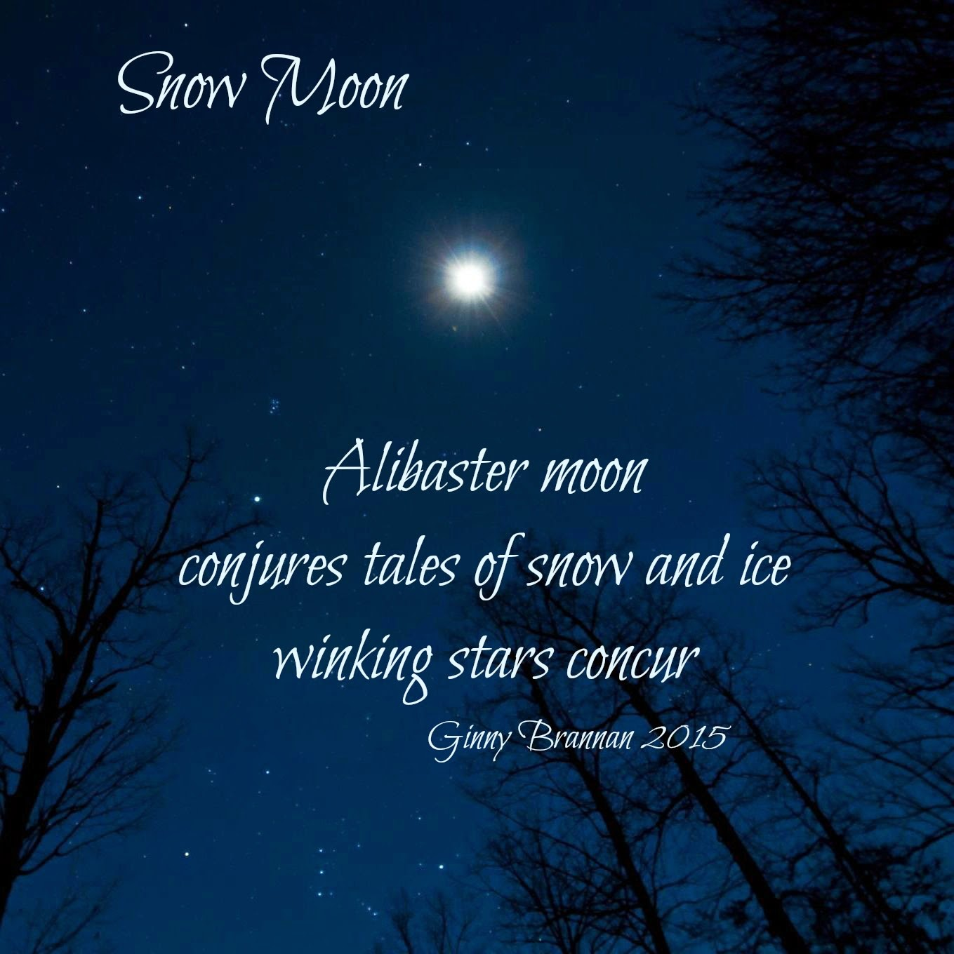 Inside Out Poetry Snow Moon