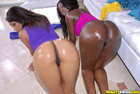 Black pornstars having sex in HD photo