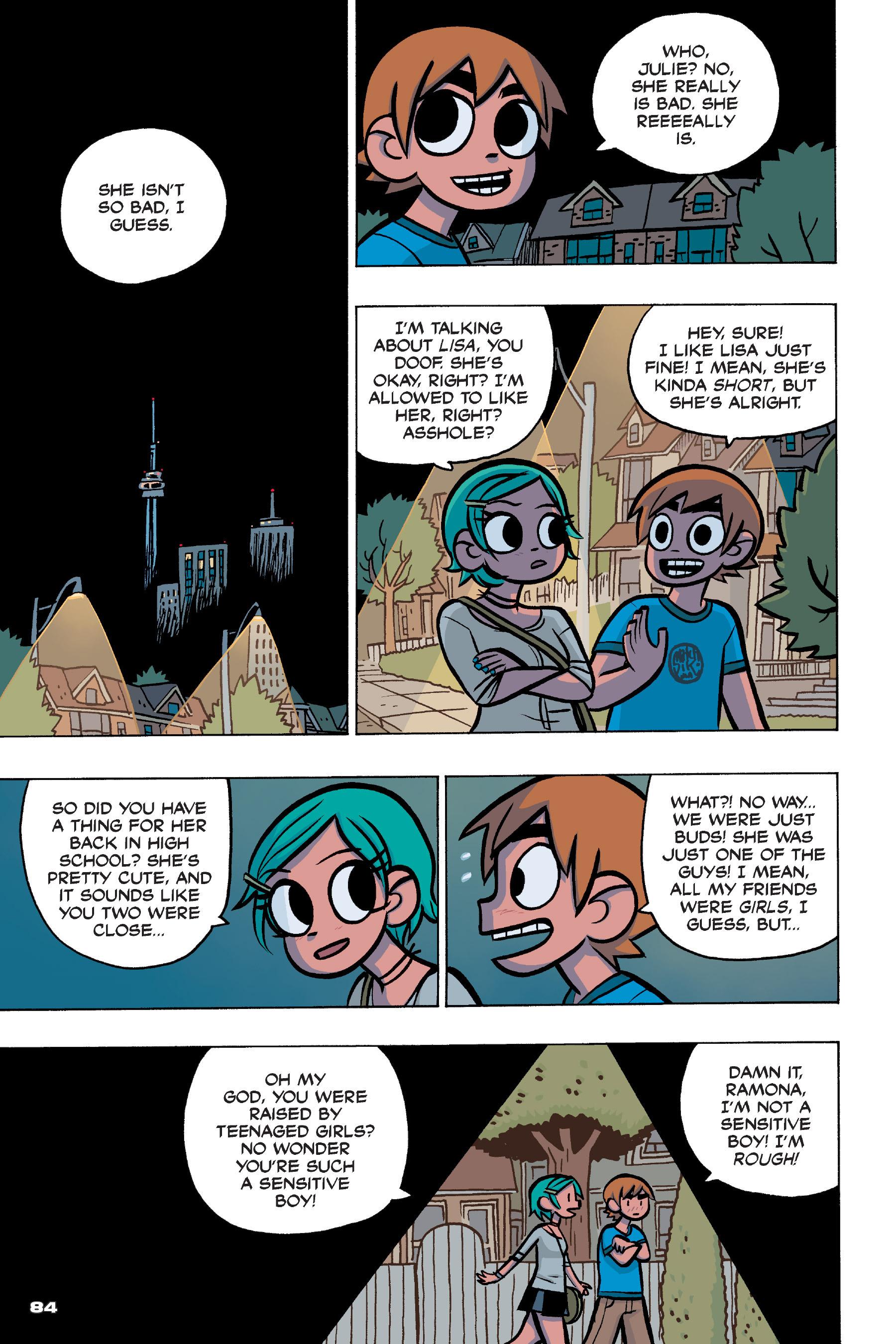 Read online Scott Pilgrim comic -  Issue #4 - 82