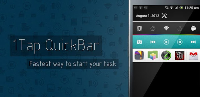 1Tap Quick Bar -Quick Settings (Ultimate) v1.3