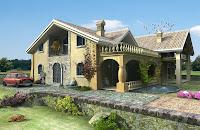 Diseño de fachada de casa bonita