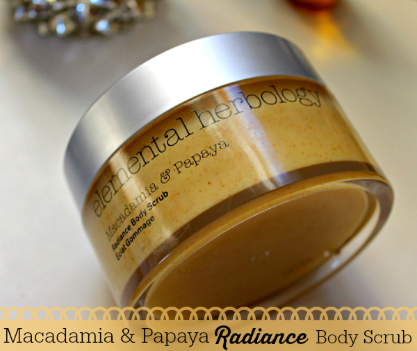 Body Skincare, Elemental Herbology Papaya Scrub