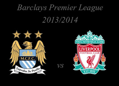 Manchester City vs Liverpool Barlays Premier League 2013