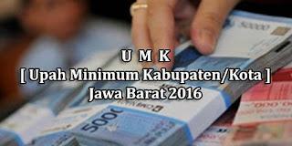 Daftar Lengkap UMK 2016 Jawa Barat