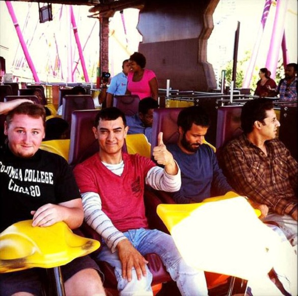 Dhoom 3 Aamir Khan Katrina kaif Latest Shooting Images