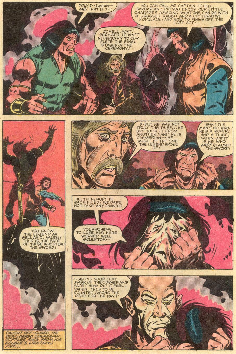 Conan the Barbarian (1970) Issue #143 #155 - English 21