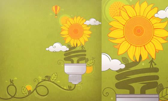 Desenhos ecológicos de Carol Rivello