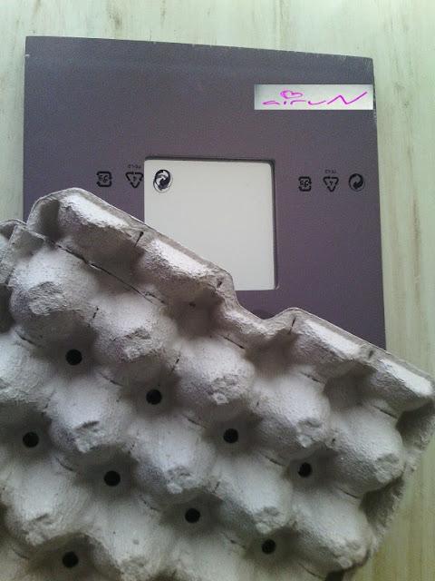 materiales huevera espejo