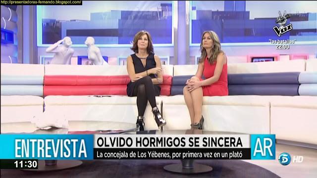 Ana Rosa Quintana y olvido hormigos