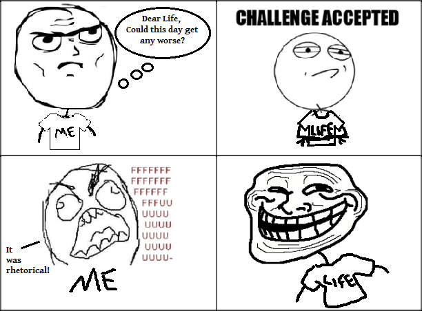 assigned it the troll ...