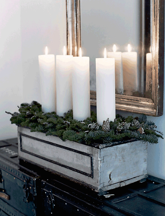Cozy Christmas decor |  Image by Martin Solyst for Femina