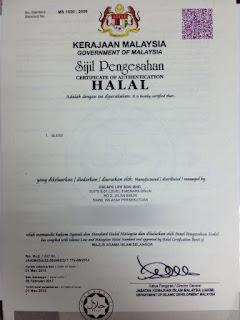 Sijil Halal TeaTox