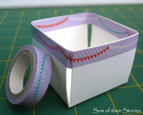 Washi Tape Berry Boxes www.sumoftheirstories.com