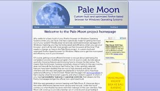 Pale Moon, Web Browser
