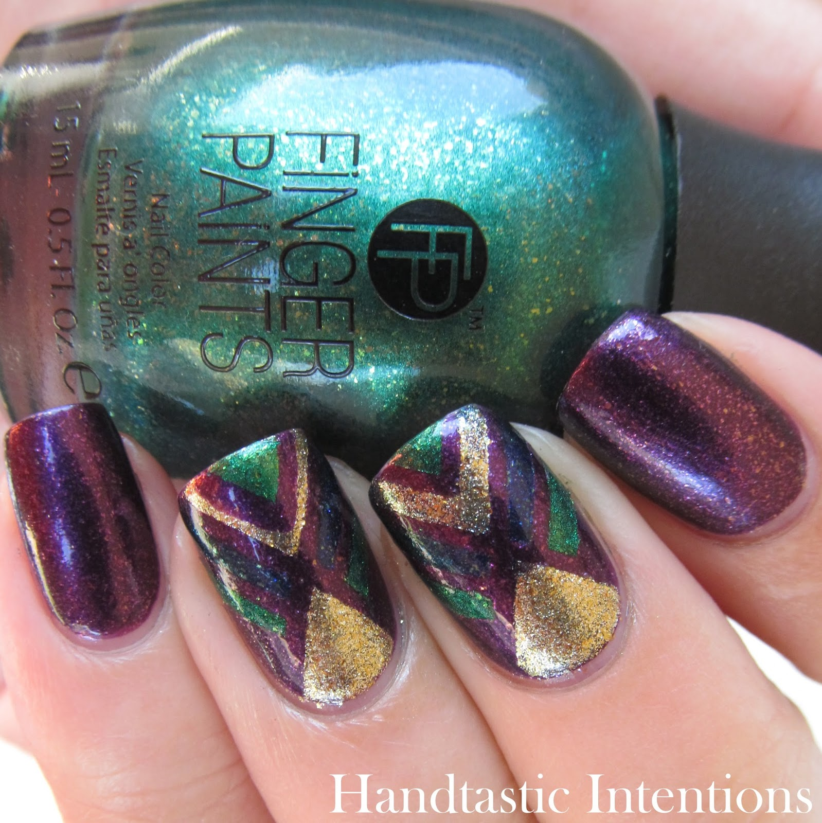 Handtastic Intentions Finger Paints Masquerade Affair Collection