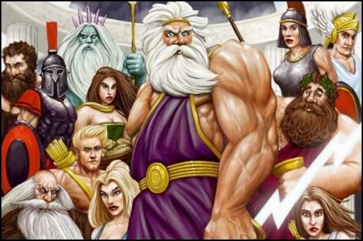 Os 12 Deuses Do Olimpo