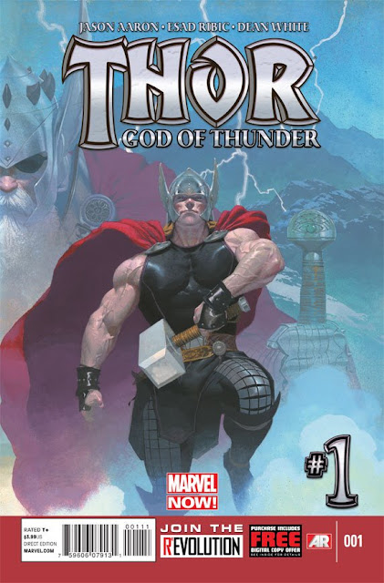 Thor God of Thunder Comics gratis descarga español