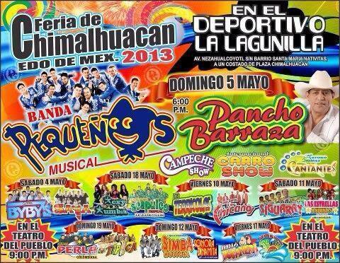 Feria de Chimalhuacán 2013 programa