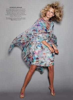 Michaela Hlavackova HQ Pictures Marie Claire UK Magazine Photoshoot February 2014