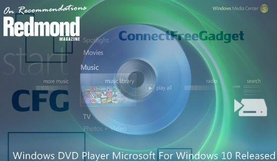 Выход Windows DVD Player для ОС Windows 10 Threshold