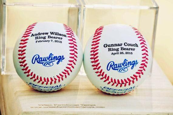 Urban Farmhouse Tampa Ring Bearer Baseball