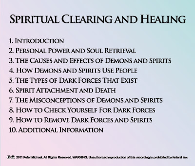 Spirit Removal, Depossession, Entity Removal, Energy Healing