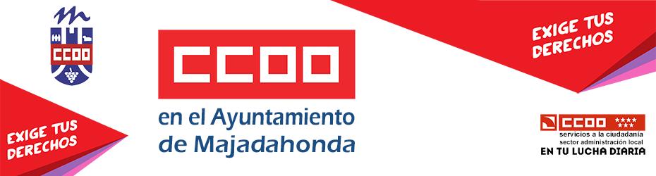 CCOO en el Ayuntamiento de Majadahonda