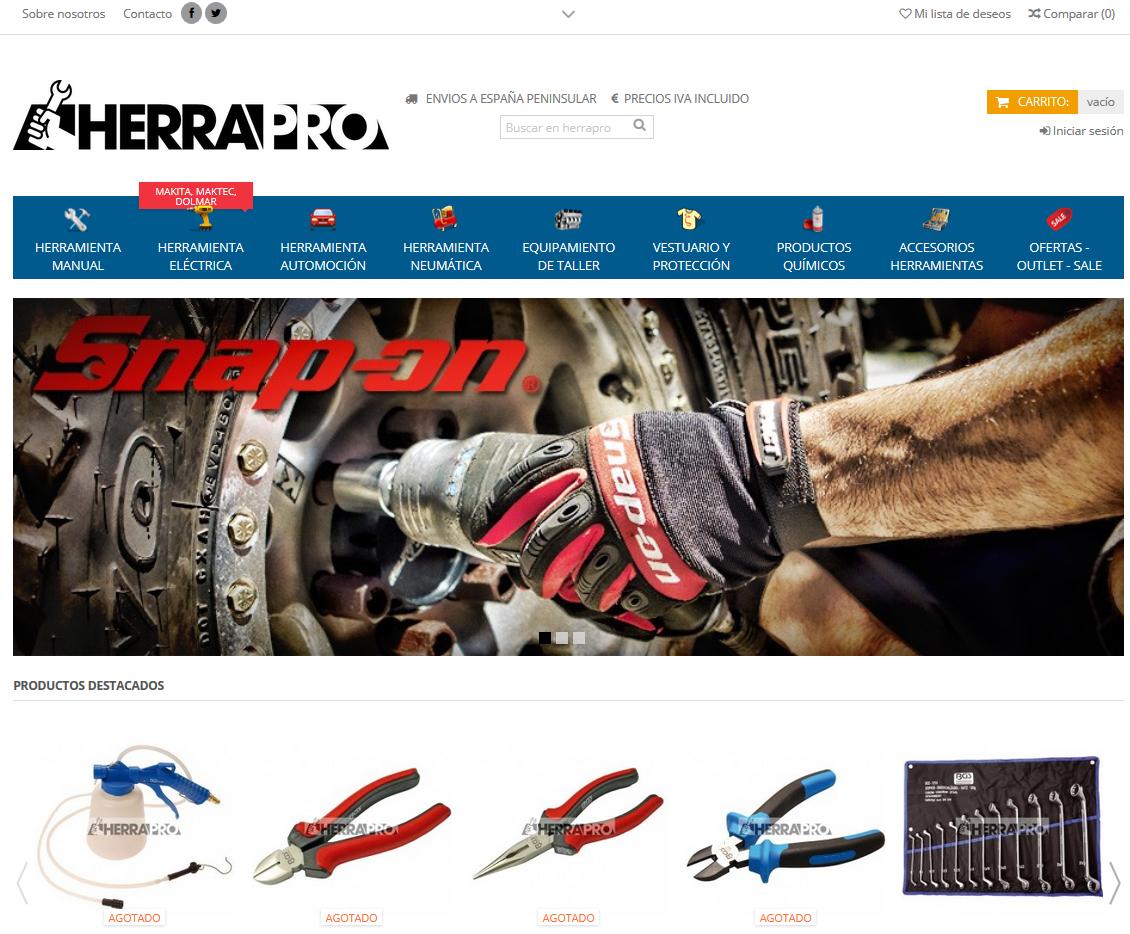 tienda online herrapro.com