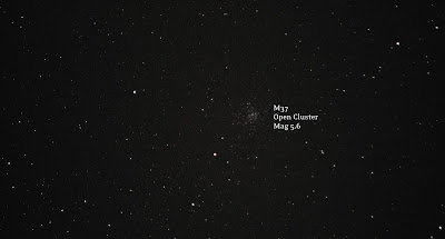 M37 open cluster in Auriga