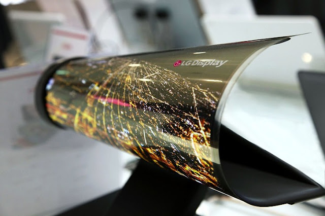 LG Display Reveals 8K TV OLED Rollable OLED for CES 2016