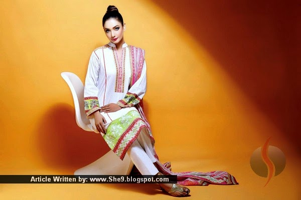 Vaneeza V Lawn Collection 2015