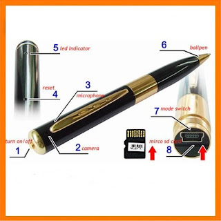 Spy Cam Pen Camera BPR 6