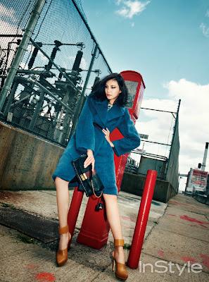 Cha Ye Ryun - InStyle Magazine November Issue 2013