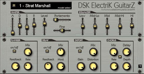Plugin VST de Guitarra - DSK Electrik GuitarZ