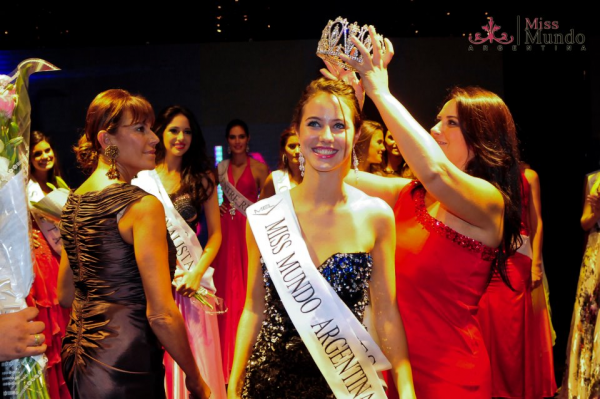 Miss Mundo World Argentina 2012 winner Josefina Herrero