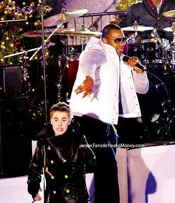 ftos de justin bieber y busta rhymes