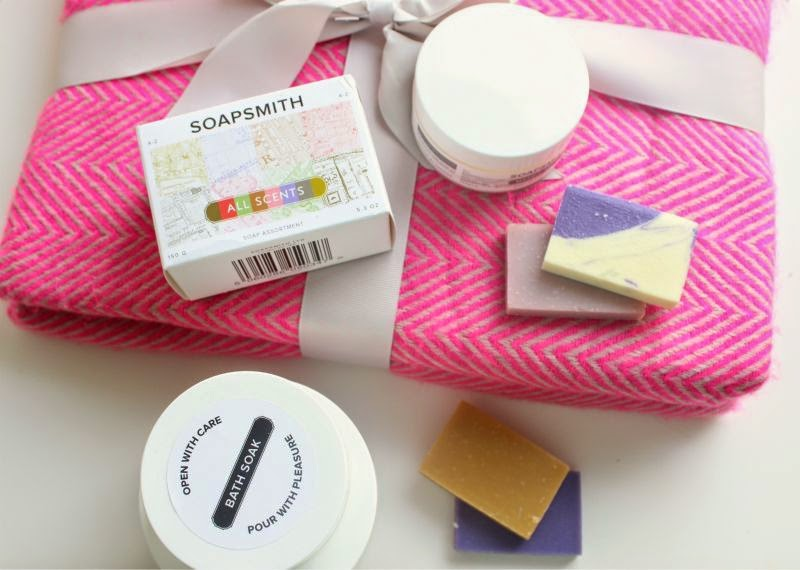 Soapsmith Four Piece Step in to London Collection
