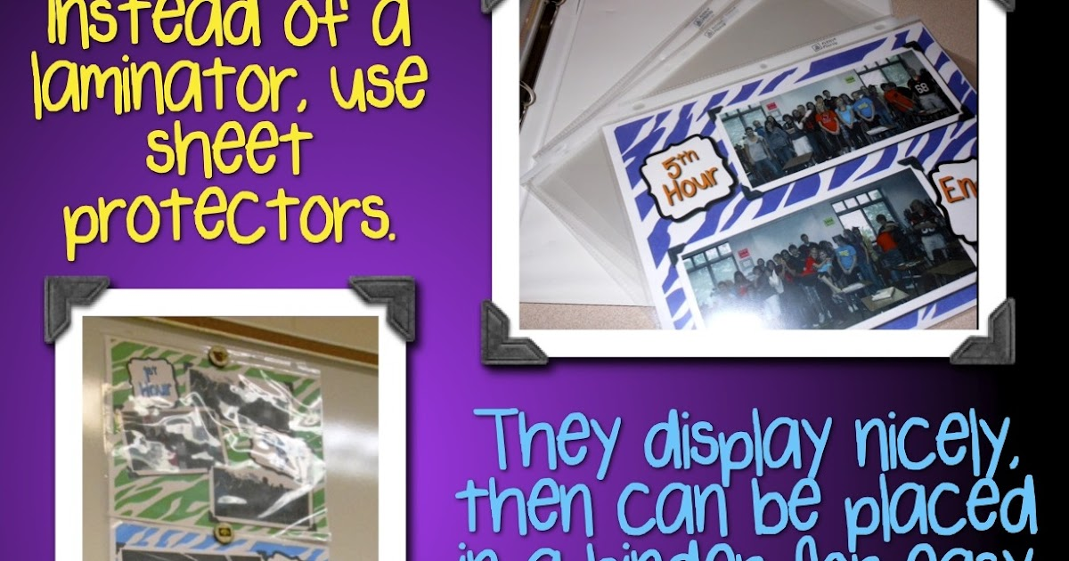 Mrs Orman S Classroom Say Goodbye To Your Laminator A