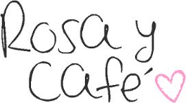 rosa y café