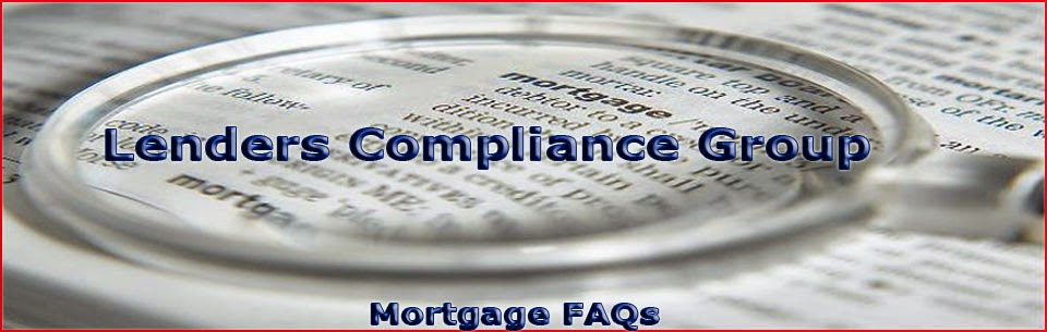 Mortgage Compliance FAQs